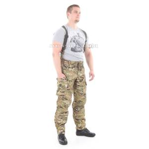 Gorka-5 suit in multicam with fleece removable lining bars