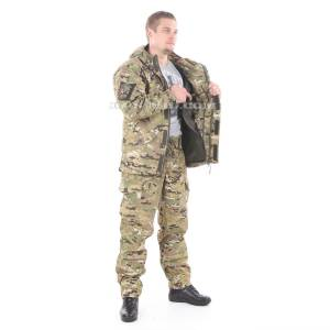 Gorka-5 suit in multicam with fleece removable lining on sale