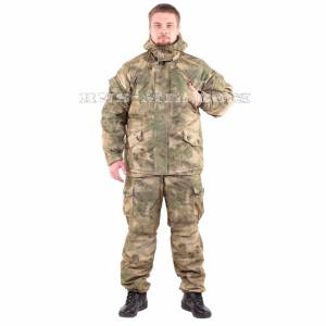 Membrane lightweight Gorka-winter suit in A-Tacs FG
