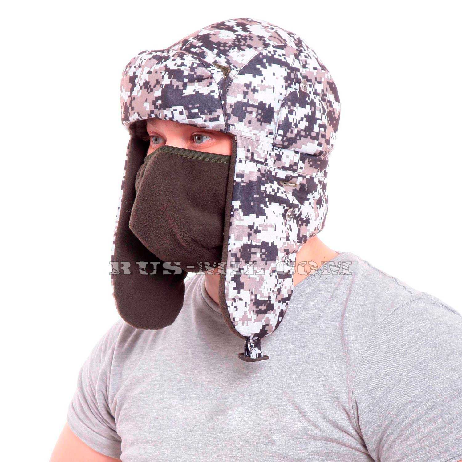15a3d5885f5bd Russian winter hats with ear flaps